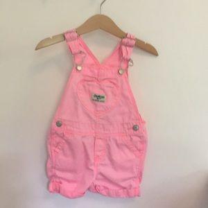 Pink Oshkosh overall